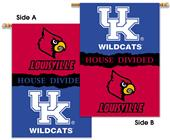 Collegiate UK/Louisville House Divided Banner