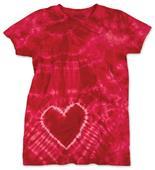 Dyenomite 150HT Heart Tie Dye T-Shirt