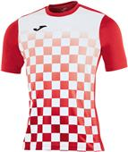 Joma T-Shirt Flag Short Sleeve Soccer Jersey