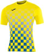Joma T-Shirt Flag Short Sleeve Soccer Jersey