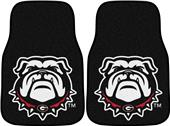 Fan Mats NCAA Univ of Goergia Carpet Car Mat (set)