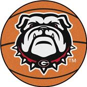 Fan Mats NCAA Univ. of Georgia Basketball Mat