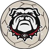 Fan Mats NCAA Univ. of Georgia Soccer Ball Mat