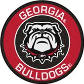 Fan Mats NCAA University of Georgia Roundel Mat