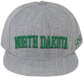 WRepublic North Dakota Univ Game Day Fitted Cap