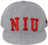 WRepublic Northern Illinois Game Day Fitted Cap