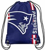 NFL New England Patriots Drawstring Backpack