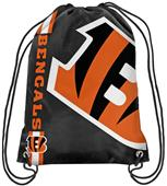 NFL Cincinnati Bengals Drawstring Backpack