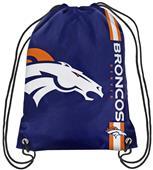 NFL Denver Broncos Drawstring Backpack