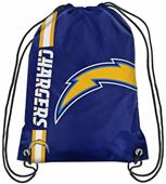 NFL Los Angeles Chargers Drawstring Backpack