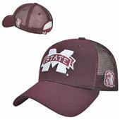 Mississippi State Univ Structured Trucker Cap