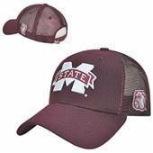 Mississippi State Univ Structured Trucker Cap