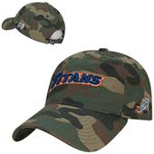 Cal State Fullerton Relaxed Camo Cap