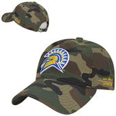 San Jose State University Relaxed Camo Cap