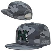 W Republic University Hawaii Camo Snapback Cap
