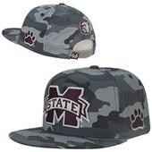 Mississippi State University Camo Snapback Cap