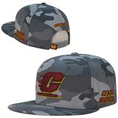 Central Michigan University Camo Snapback Cap