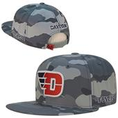 University of Dayton Camo Snapback Cap