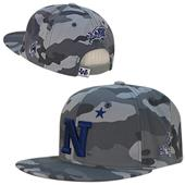 United States Naval Academy Camo Snapback Cap