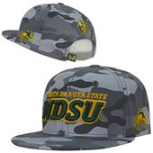 North Dakota State University Camo Snapback Cap