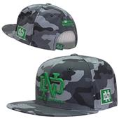 University of North Dakota Camo Snapback Cap