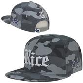 W Republic Rice University Camo Snapback Cap