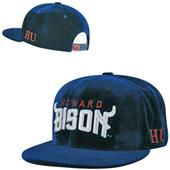 Howard University Velvet Snapback Cap