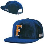 Cal State Fullerton Velvet Snapback Cap