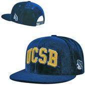 UC Santa Barbara Velvet Snapback Cap