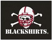 Fan Mats NCAA Nebraska Blackshirts All-Star Mat