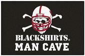 Fan Mats Nebraska Blackshirts Man Cave Starter Mat