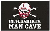 Fan Mats Nebraska Blackshirts Man Cave Ulti-Mat