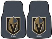 Fan Mats NHL Golden Knights Carpet Car Mats (set)