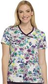 Cherokee Women's Infinity Mock Wrap Scrub Top