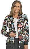 Cherokee Disney Womens Hello Kitty Warm-up Jacket