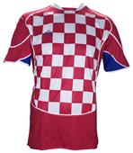 Admiral RWB Checkered Soccer Jerseys - Closeout