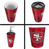 Northwest NFL San Francisco 49ers 4-Piece Bath Set