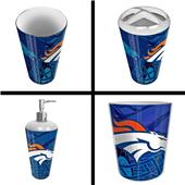 Northwest NFL Denver Broncos 4-Piece Bath Set