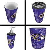 Northwest NFL Baltimore Ravens 4-Piece Bath Set