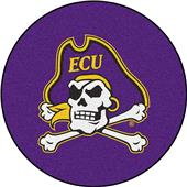 "Fan Mats East Carolina University 27"" Round Mat"