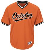 MLB Cool Base Orioles V-Neck Baseball Jersey