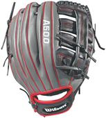 "Wilson A500 12.5"" Utility Baseball Glove"