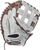 "Wilson Aura 33"" Catchers Fastpitch Mitt"