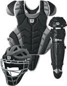 Wilson Intermediate Pro Stock C1K Catcher Gear Kit