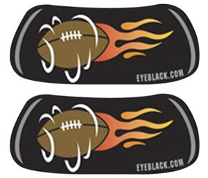 FLAMING FOOTBALL