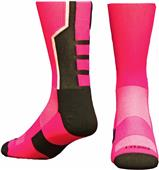 Pro Feet 3-Pointer Think Pink Socks