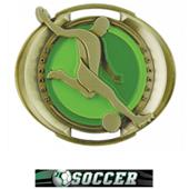 "Hasty Awards 3"" Halo Soccer Medals"