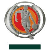 "Hasty Awards 3"" Halo Basketball Medals"