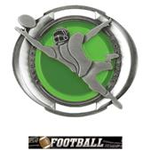 "Hasty Awards 3"" Halo Football Medals"