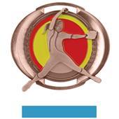 "Hasty Awards 3"" Halo Softball Medals"